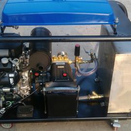 汽油机驱动高压疏通机---下水道高压清洗机