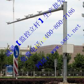 诚通公司提供CT-6500系列西安监控杆,西安八棱监控杆