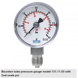EN837-1标准威卡压力表