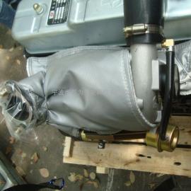 发动机排气管隔热套
