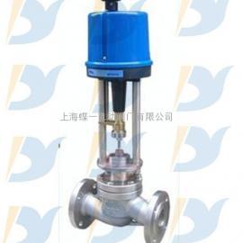 DN80电动单座调节阀,电动单座调节阀厂家