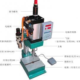 供应单柱式�舛�铆合�毫�C 含计数保压调时功能可订做非标