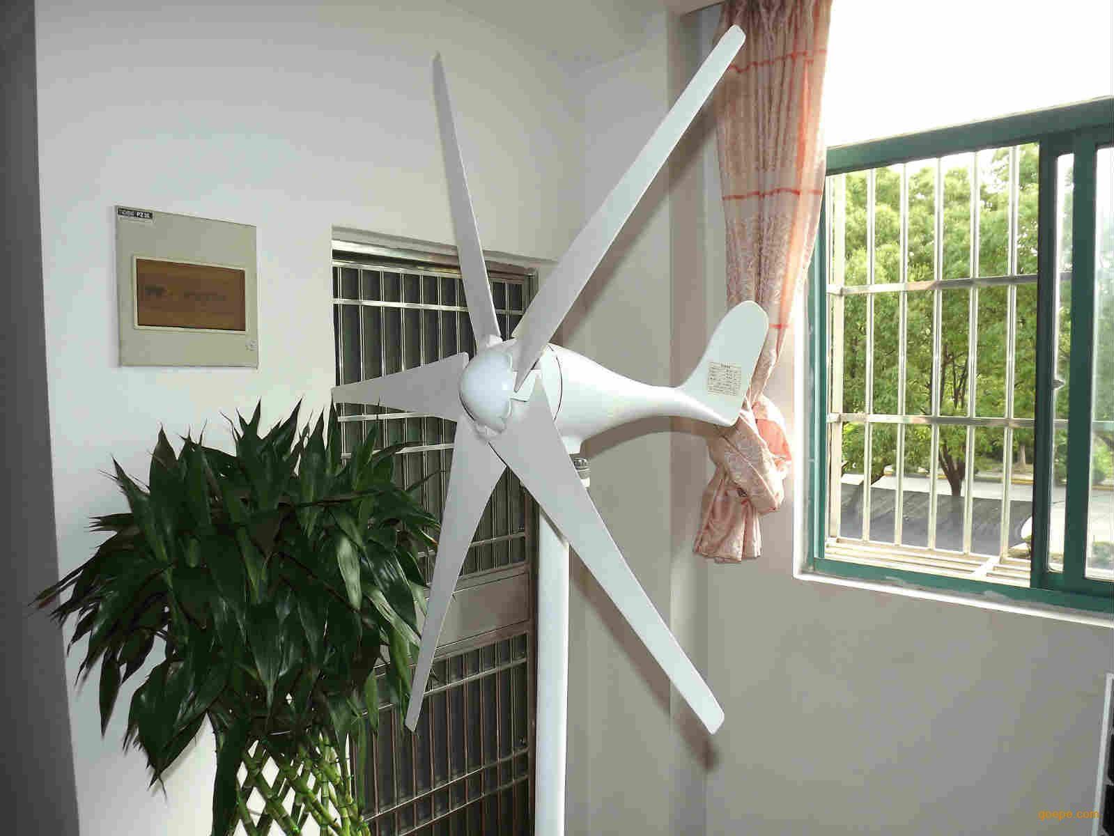家用风光互补300W风力发电机