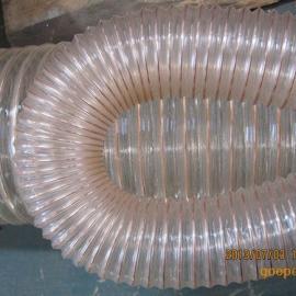 不含塑化剂镀铜钢丝伸缩管,PU缠绕螺旋管厂家