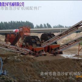 鲁浩LH-120型山地专用筛沙洗石机