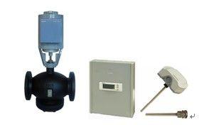西门子电动调节阀-用于板式换热机组