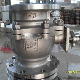 美标不锈钢蜗轮球阀Q341F-150LB涡轮球阀