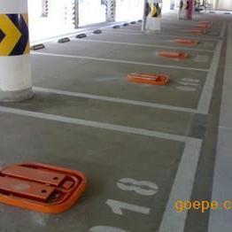 停车位划线划标号,停车场划车位线,路面热熔标线公司