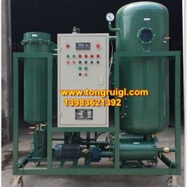 PLC自动控制汽轮机油透平油滤油机