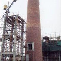 60米烟筒新建|50米砖烟筒新建