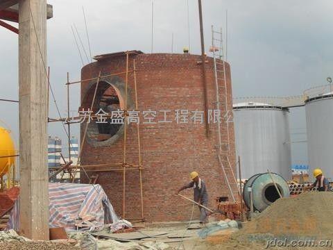 赤峰新建砖烟囱、砼烟囱新建
