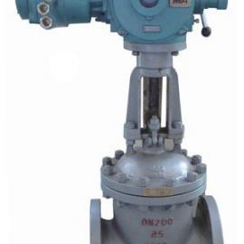 Z945T-10普通法兰铸铁电动闸阀,PN10电动铸铁闸阀
