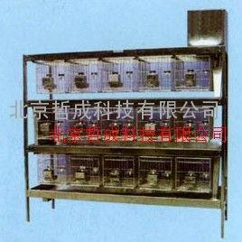 不锈钢冲洗式兔笼  金牌优势 实验兔笼