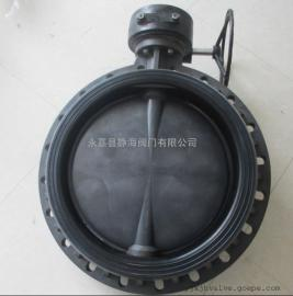 D371X-6涡轮塑料蝶阀UPVC/CPVC/FRPP