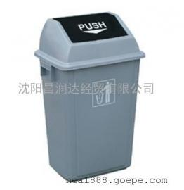 沈阳 户外 室外 弹盖垃圾桶 垃圾桶
