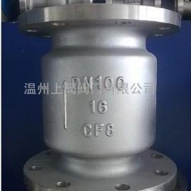 316L不锈钢立式止回阀H42W-16P/H42W-16R