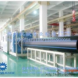专业制造PE供水燃气管道生产线|PE管材生产线操作方法