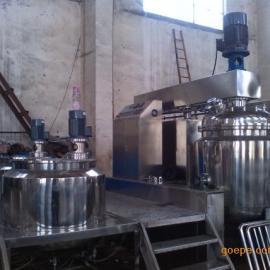 无锡厂家生产 不锈钢真空加热 ZJR-650L乳化机设备