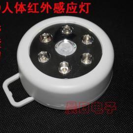 6LED人体感应灯无线红外线灯LED感应灯LED人体感应灯