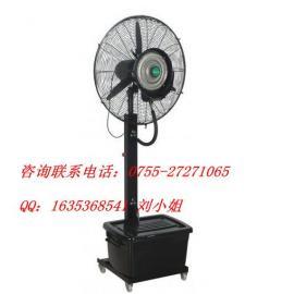 移动式落地喷雾扇 强力喷雾工业扇 喷水电风扇