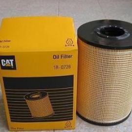 卡特机油滤芯1R-0726柴油发电机组配件CAT挖机机油滤清器1R0726