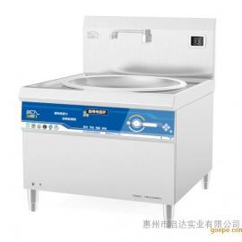 惠州喜德力商用电磁炉厂家电磁单头大炒炉