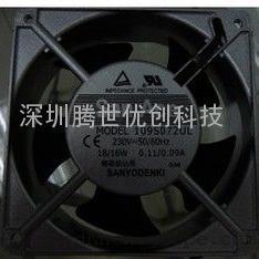 日本三洋散热风扇 109S072UL 12038 230V