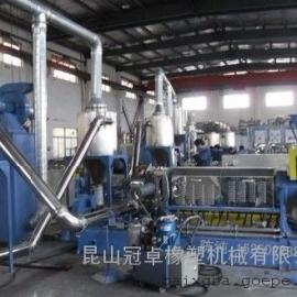橡胶用硫磺母粒造粒机_硫磺母粒造粒机冠卓专业产品