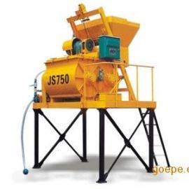 德阳JS500双卧轴混凝土搅拌机