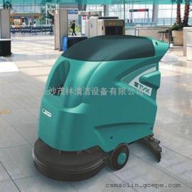 湖南工厂树脂油漆水磨石地面最实惠的手推式全自动洗地机
