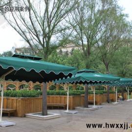 单边庭院伞、别墅庭院伞、深圳庭院伞厂家
