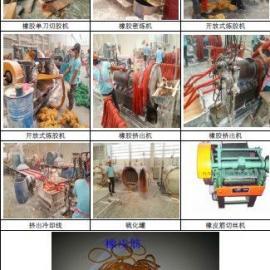 橡皮筋生产线_橡皮筋挤出生产线_天然橡胶弹性皮筋生产线