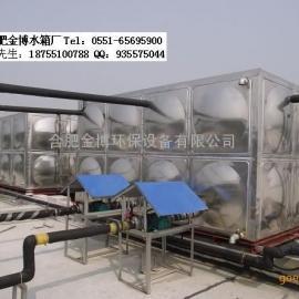 合肥金博不锈钢水箱/保温水箱/圆柱形水箱/储水罐价格低