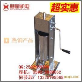 漳州手摇式灌肠机:304不锈钢材质