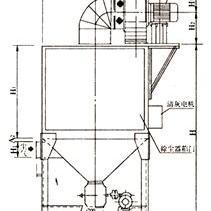 JBC20/32/45/60扁布袋除尘器