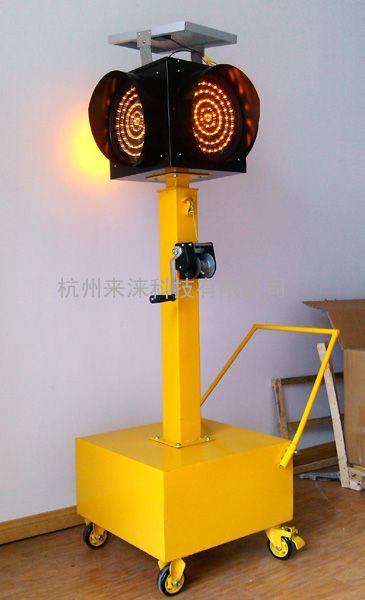 驾校特选太阳能移动红绿灯移动信号灯临时灯
