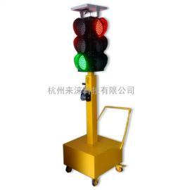 推车式太阳能移动红绿灯,升降式应急红绿灯,移动信号灯