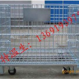 福建专业仓储笼订购,非标仓储铁笼,可折叠式仓储笼价格