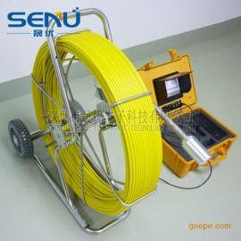 晟优S905 线长120米大管道探测器 管道摄像头摄像机
