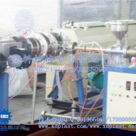哪里有PE管材生产线设备卖|PE20-110塑料管材生产线要多少钱报价