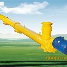 单管GL型管式螺旋输送机倾斜使用螺旋输送机