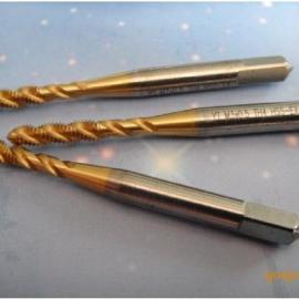 镀钛螺旋丝攻-超耐磨镀钛螺旋丝攻厂家定做