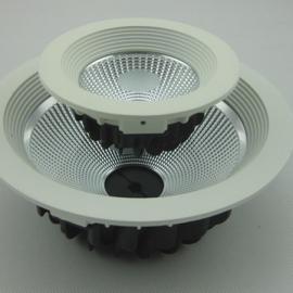 厂家直销 优质cob筒灯5寸10W 吊顶射灯 防雾节能超亮