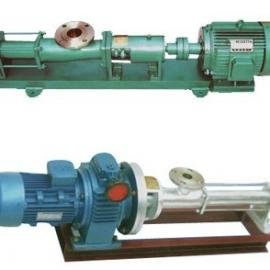 FG35-1螺杆泵 不锈钢单螺杆泵