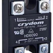 快达HD60系列无功功率补偿电容投切专用固态继电器
