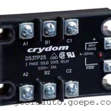 Crydom美国快达三相电机固态继电器D53TP50D