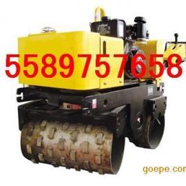 手扶式双轮压路机TT800C双钢轮压路机
