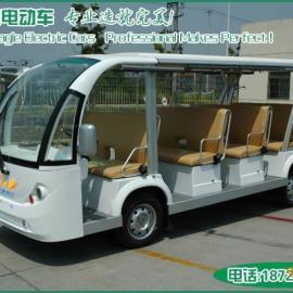 2013电动观光车益高14座电瓶观光车进口配置节能持久