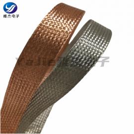 镀锡铜编织网,镀锡铜包钢编织线