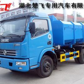 国四钩臂运输车|国四可卸式垃圾运输车